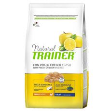 Trainer Natural Small and Toy Adult, pui și orez 2 kg