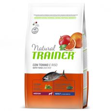 Trainer Natural Medium Adult peşte şi orez 12 kg