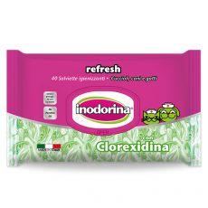 Şerveţele umede Inodorina Clorhexidina 40 buc