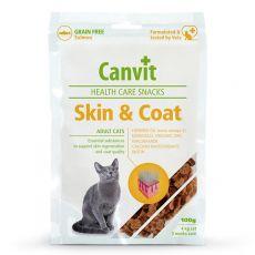 Canvit Health Care Cat Skin & Coat Snack 100 g