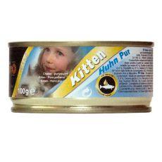 Conservă pentru pisici Leonardo - Kitten Pui 100 g