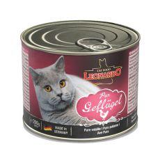 Leonardo conservă pentru pisici - carne de pui 200 g