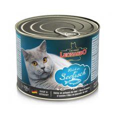 Leonardo - Pește, conservă pentru pisici 200 g