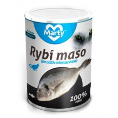 Conservă pentru pisici MARTY Premium Fish 400 g