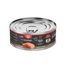 Conservă pentru pisici MARTY Deluxe Bits of Salmon 100 g