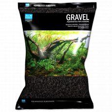 Aqua Exellent Substrat acvariu negru 2-4 mm, 3kg
