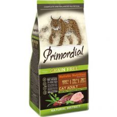 Primordial GF Cat Adult Duck & Turkey 6 kg