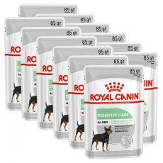 Royal Canin Digestive Care Dog Loaf pliculeț cu pate pentru câini cu digestie sensibilă 12 x 85 g