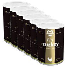 Conservă MARTY Signature Bits of Turkey 6 x 400 g