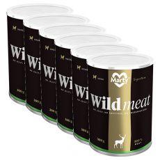 Conservă MARTY Signature Wild Meat 6 x 300 g
