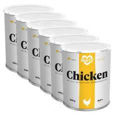 Conservă MARTY Essential Chicken 6 x 800 g