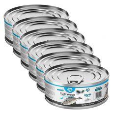 Conservă pentru pisici MARTY Premium Fish 6 x 100 g