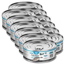 Conservă pentru pisici MARTY Premium Fish 12 x 100 g