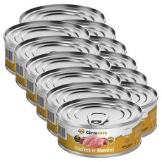 Conservă pentru pisici MARTY ProCarnivora Chicken & Beef 12 x 100 g