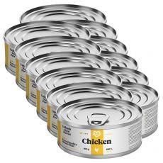 Conservă pentru pisici MARTY Essential Chicken 12 x 100 g