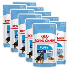 Pliculeț Royal Canin Maxi Puppy 10 x 140 g