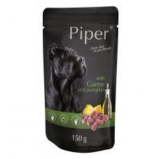 Piper Adult hrană la plic cu carne de vânat și dovleac 150 g