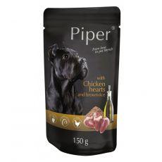 Piper Adult hrană la plic cu inimă de pui și orez brun 150 g