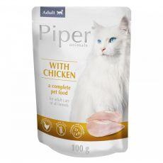 Piper Cat Adult hrană la plic cu carne de pui 100 g