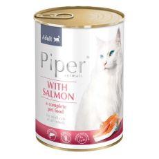 Piper Cat Adult conservă pentru pisici cu somon 400 g