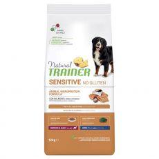 TRAINER Natural SENSITIVE No Gluten Adult Medium / Maxi Salmon 12 kg