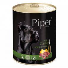 Piper Adult conservă pentru câini cu carne de vânat și dovleac 800 g