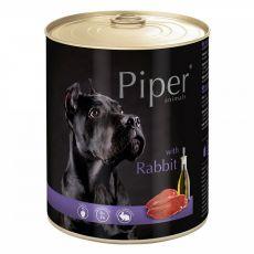 Piper Adult conservă cu carne de iepure 800 g