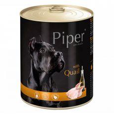 Piper Adult conservă pentru câine cu prepeliţă 800 g