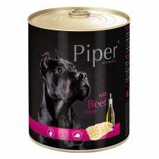 Piper Adult conservă pentru câini cu organe de vită  800 g
