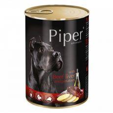 Piper Adult conservă pentru câini cu ficat de vită și cartofi 400 g