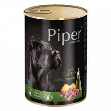 Piper Adult conservă pentru câini cu carne de vânat și dovleac 400 g
