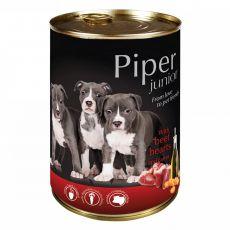 Piper Junior conservă cu inima de vită și morcovi 400 g