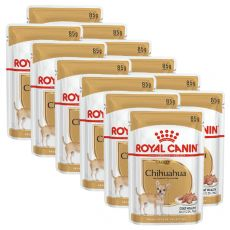 ROYAL CANIN ADULT CHIHUAHUA 12 x 85 g - pungă