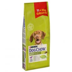PURINA DOG CHOW ADULT Lamb 11 + 3 kg GRATUIT