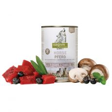 ISEGRIM Adult Steppe: carne de cal cu mure și ciuperci 800 g