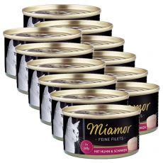 Conservă Miamor File pui și șuncă 12 x 100 g