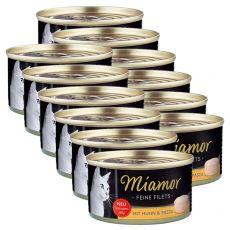 Conservă Miamor File pui și paste 12 x 100 g