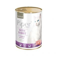 Piper Cat Sterilised conservă cu carne de miel 400 g