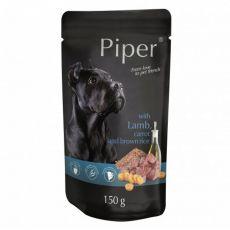 Piper Adult hrană la plic cu miel, morcovi și orez brun 150 g