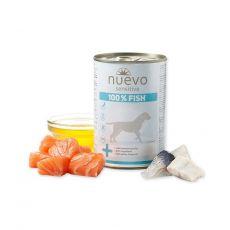 Conservă NUEVO Dog Sensitive FISH 375 g