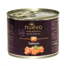 Conservă NUEVO CAT Adult Salmon 200 g