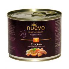 Conservă NUEVO CAT Kitten Chicken 200 g