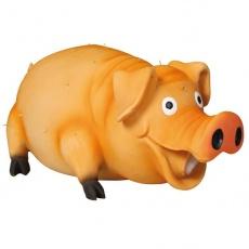 Jucărie câine- porc cu peri - 21cm