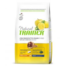 TRAINER Natural Small & Toy Adult şuncă uscată 2 kg