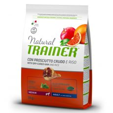 TRAINER Natural Medium Adult suncă uscată 3 kg