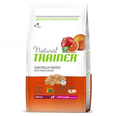 Trainer Natural Medium Puppy & Junior fresh chicken 3 kg