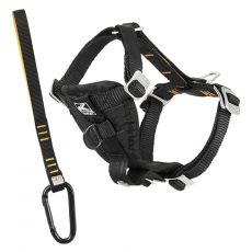 Ham de siguranță Kurgo Tru-Fit Smart Harness, negru XS