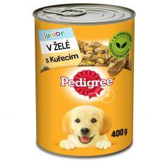 Pedigree conservă cu pui în gelatină, pentru cățeluși 400g