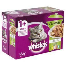 Whiskas pliculeț Casserole selecție mixtă în gelatină 12 x 85g