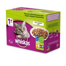 Whiskas pliculeț selecție mixtă în sos 12 x 100g